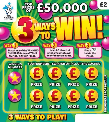 3 ways to win scratchcard