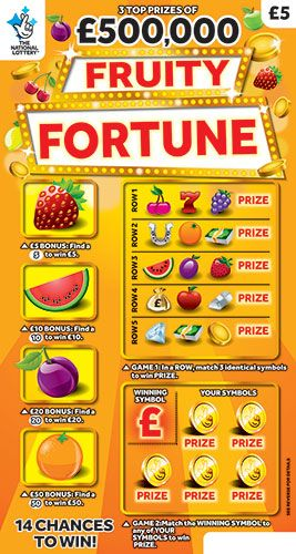 fruity fortune scratchcard