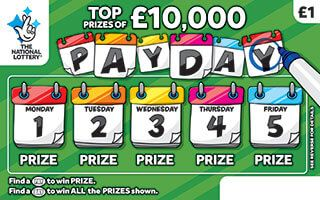 pay day scratchcard