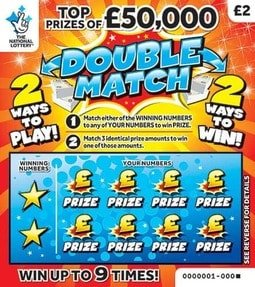 double match scratchcard