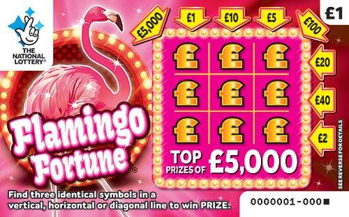 flamingo fortune scratchcard
