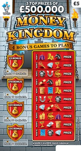 money kingdom scratchcard