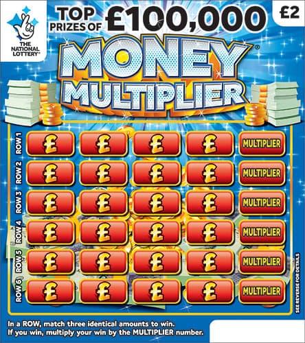 money multiplier 2019 scratchcard