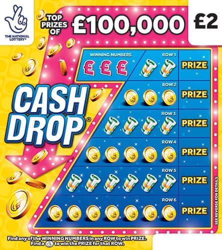 cash drop 2020 scratchcard