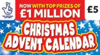 Christmas Countdown Scratchcard Lotto Scratchcards