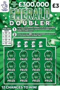 emerald doubler 2020 scratchcard