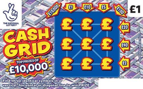 Cash Grid 2021 Scratchcard